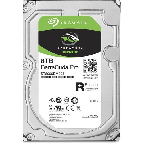 "Seagate Barracuda Pro 8TB 3.5"" 7200RPM 256MB Cache Sata 3 Sabit Disk ST8000DM005"