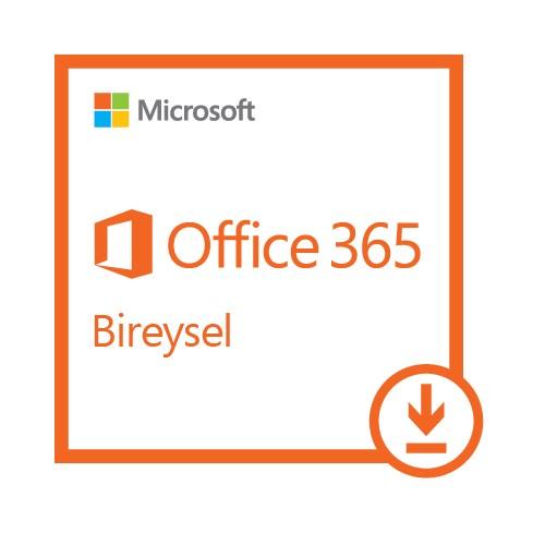 Microsoft Office 365 Bireysel Abonelik – 1 Kullanıcı – 1 yıl (Dijital İndirilebilir Lisans)