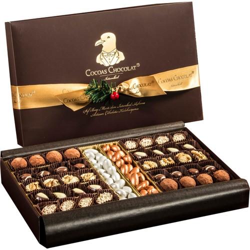 Cocoas Chocolat Bronz Badem El Yapımı 1000 Gr