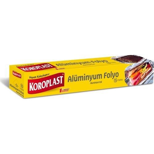 Koroplast 15 Mt Alüminyum Folyo