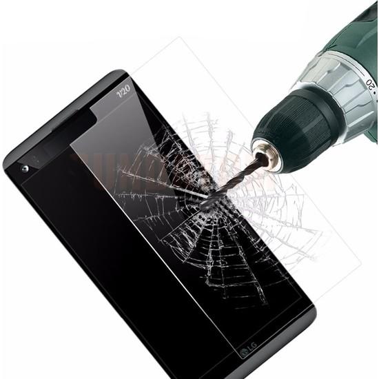 Microcase LG V20 Tempered Glas Cam Ekran Koruma