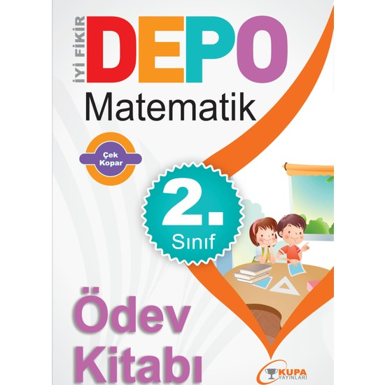 Kupa Yayınları Depo 2 Sınıf Matematik Ödev Kitabı