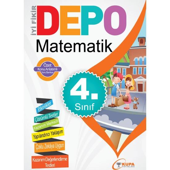 Kupa Yayınları Depo 4. Sınıf Matematik Soru Bankası