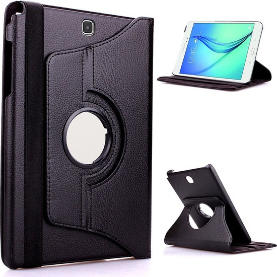 Mustek samsung Tab T560 360 Dönerli Tablet Kılıf+Film+Kalem