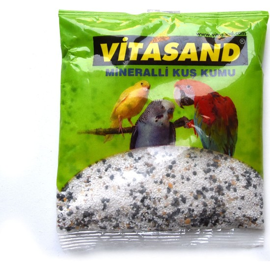 Vitasand Mineralli Kuş Kumu 350 gr Beyaz