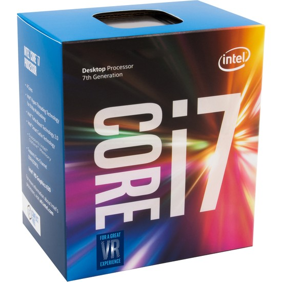 Intel Kaby Lake Core i7 7700K 4.2GHz 8MB Cache LGA1151 İşlemci