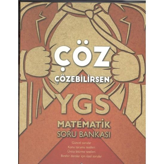 Köşegen Yayınları Ygs Matematik Soru Bankası Çöz Çözebilirsen