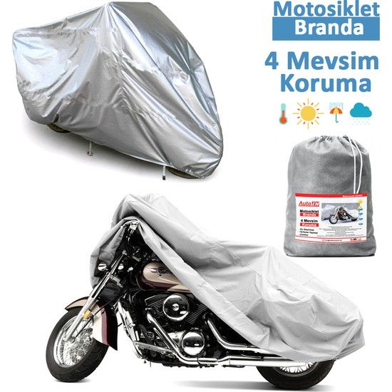 Autoen Honda PCX 150 Miflonlu Motosiklet Brandası,Örtü