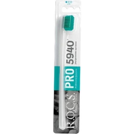 Rocs Pro 5940 Soft Diş Fırçası Yeşil