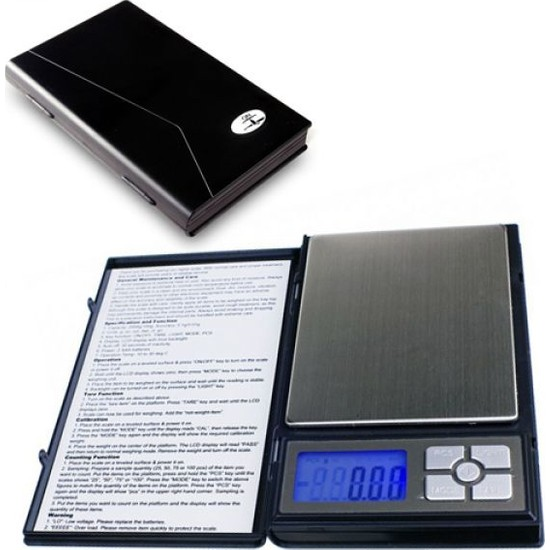 Kama Dijital Hassas Cep Terazi 500 Gr 0.01 Taksimat Notebook