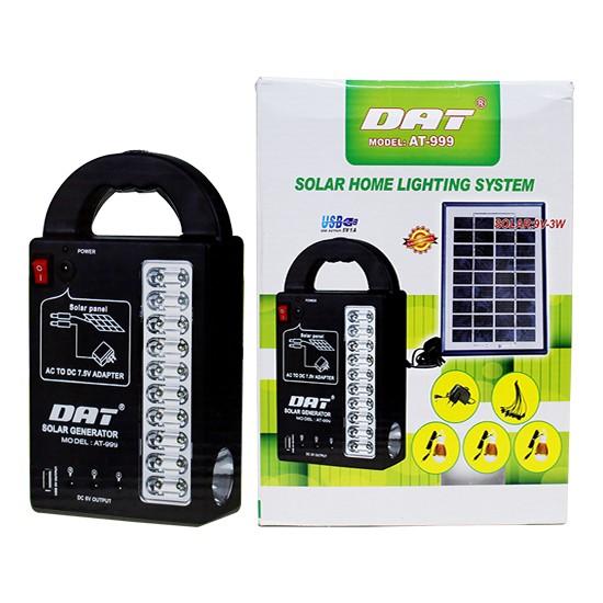 Dat Güneş Enerjili Şarjlı Aydınlatma Cihazı Dat At-999