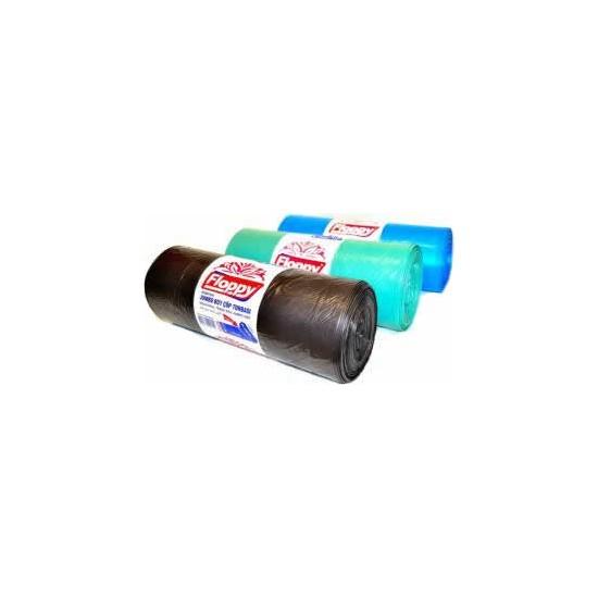 Floppy Çöp Torbası Jumbo Boy 80 cm * 110 cm Siyah