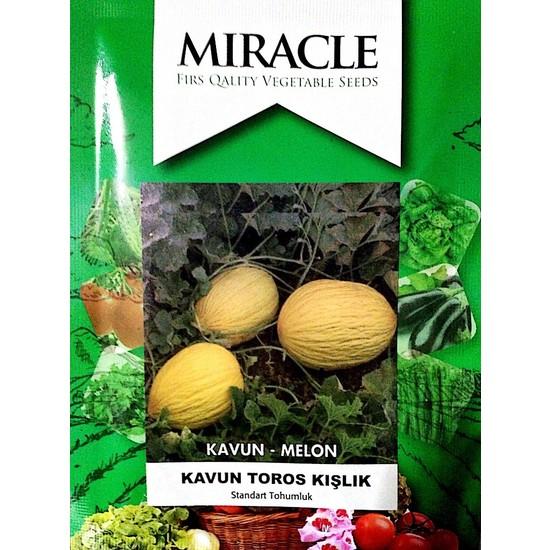Miracle Tohum Toros Sarı Kışlık Kavun Tohumu (10 gram)