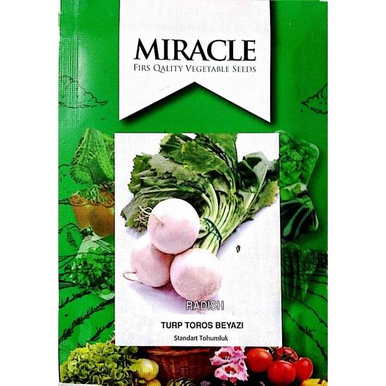 Miracle Tohum Toros Beyaz Turp Tohumu (10 gram)