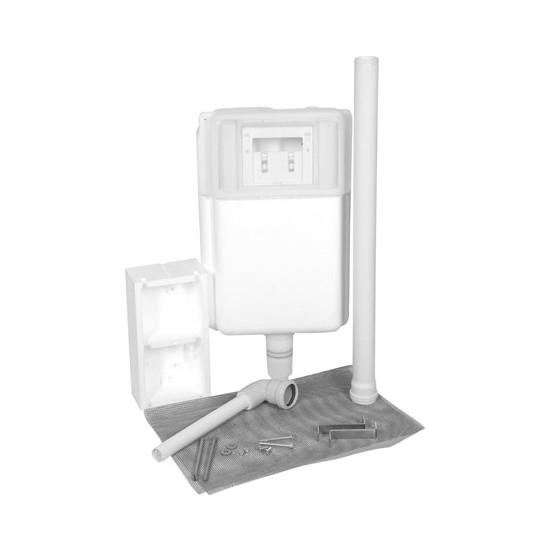 SIAMP® MANNESMANN Gömme Rezervuar - Verso 1100 HT (Hela Taşı için Uygun ve Hızlı Monta) - 3/6 Litre