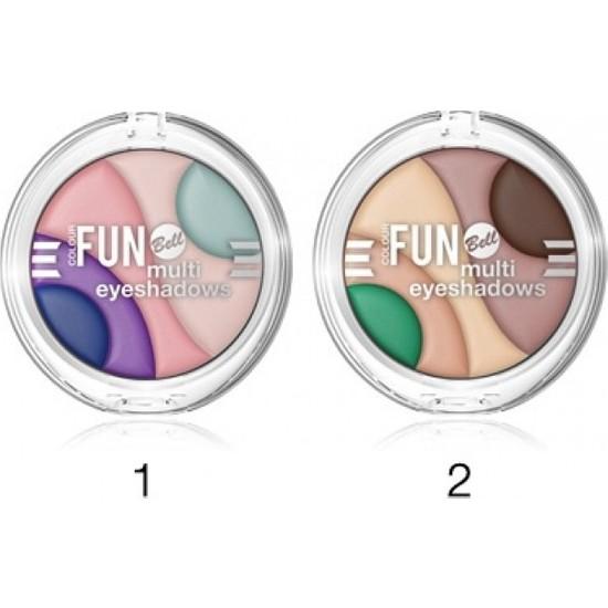 Bell Colour Fun Multi Eyeshadows Göz Farı 01