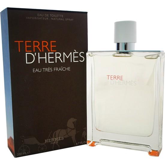 Hermes Terre Tres Fraiche Edt 200Ml Erkek Parfüm