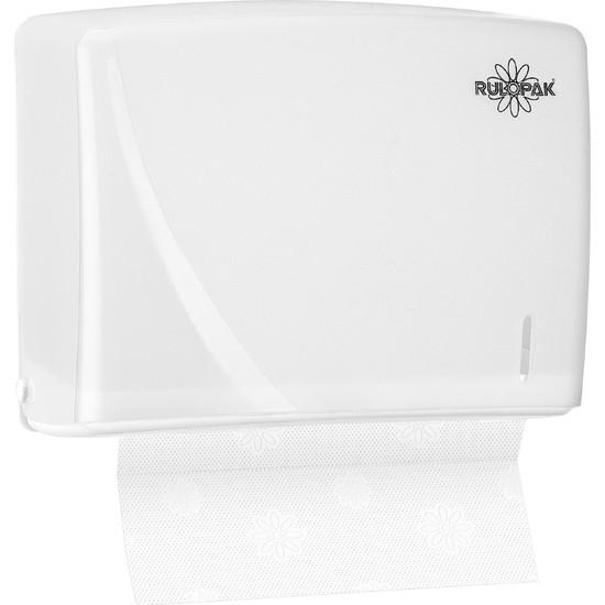 Rulopak Modern Z Katlı 200 'Lü Havlu Dispenseri Beyaz