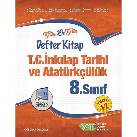 Seçkin Eğitim Teknikleri 8. Sınıf Teog T.C. İnkılap Tarihi Ve Atatürkçülük Gün Be Gün Defter Kitap 1-2