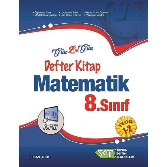 Seçkin Eğitim Teknikleri 8. Sınıf Teog 1 Ve 2 Matematik Gün Be Gün Defter Kitap