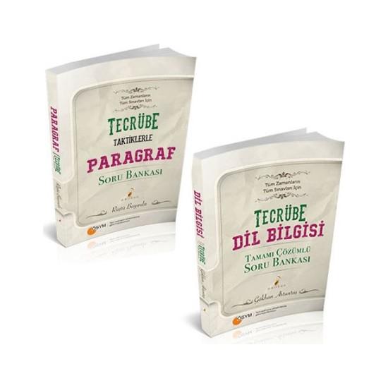 Pelikan Yayınları Tecrübe Dilbilgisi Ve Taktiklerle Paragraf Soru Bankası Seti