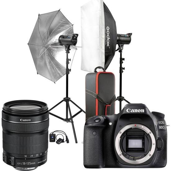 Canon EOS 80D / 18-135 + Godox 2'li (400W) + Masa