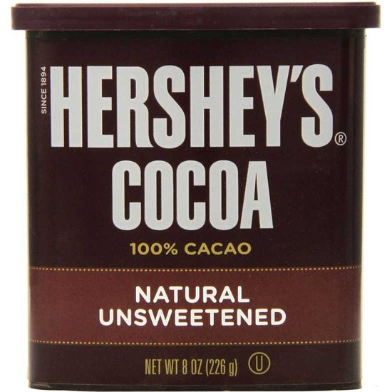 Hershey's Şekersiz Kakao Tozu 226 gr