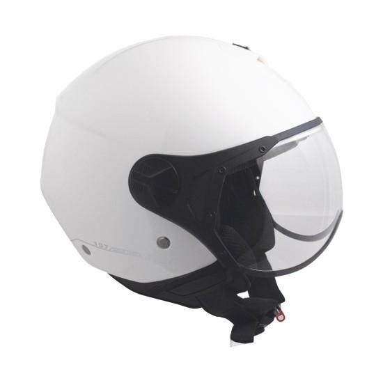 CGM Florence Beyaz Açık Motosiklet Kaskı Kısa Vizör 107A-FSA-14B Small