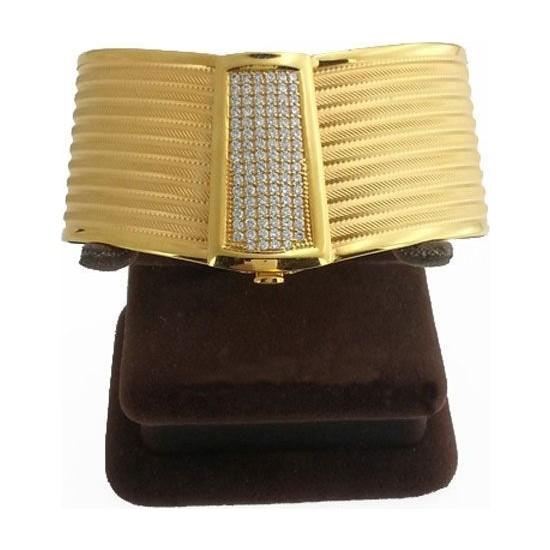 Bilezikhane Rize Hasır Kelepçe 9 Sıra 39,57 Gram 22 Ayar Altın