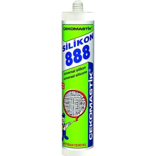 Çekomastik 888 Silikon Gri 280 Ml Kartuş