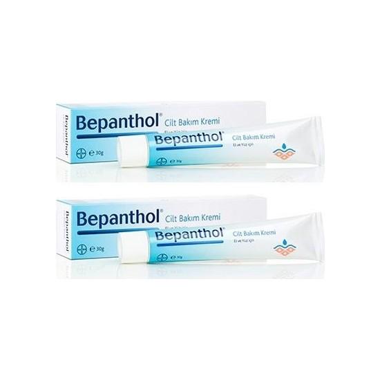 Bayer Bepanthol Cilt Bakım Kremi 30 gr x 2 Kutu