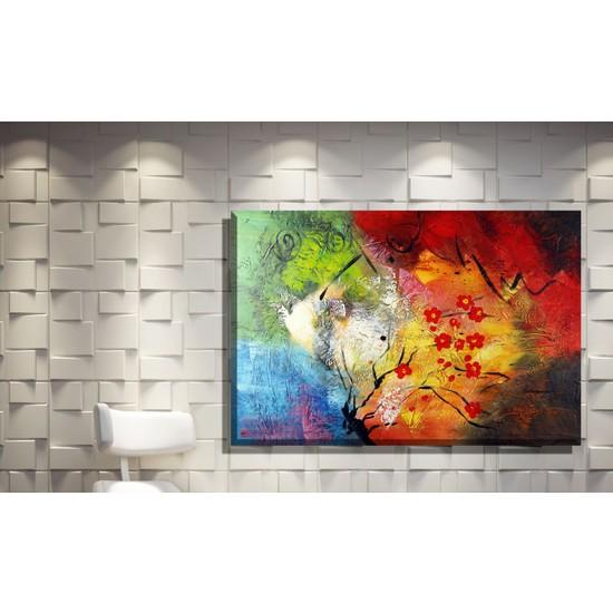 Pia Hediyelik Kanvas Tablo Abstract Model