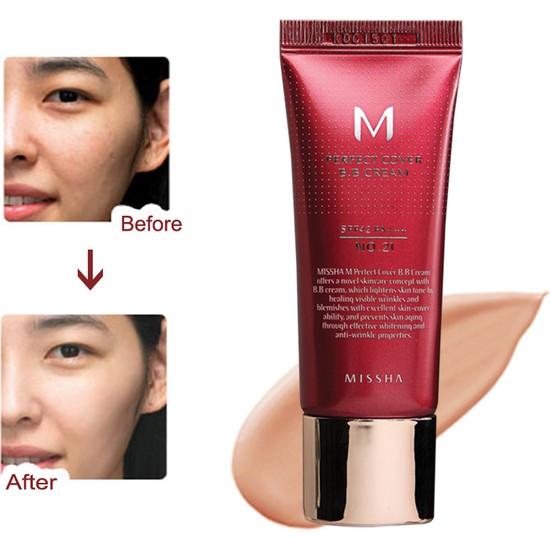 Missha M Perfect Cover BB Cream SPF42 (No.23/Natural Beige) 20ml