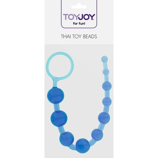 Toy Joymuck 10 Kademeli Mavi Anal Zevk Topları
