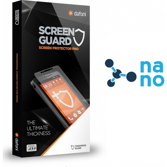 Dafoni LG G6 Nano Glass Premium Cam Ekran Koruyucu