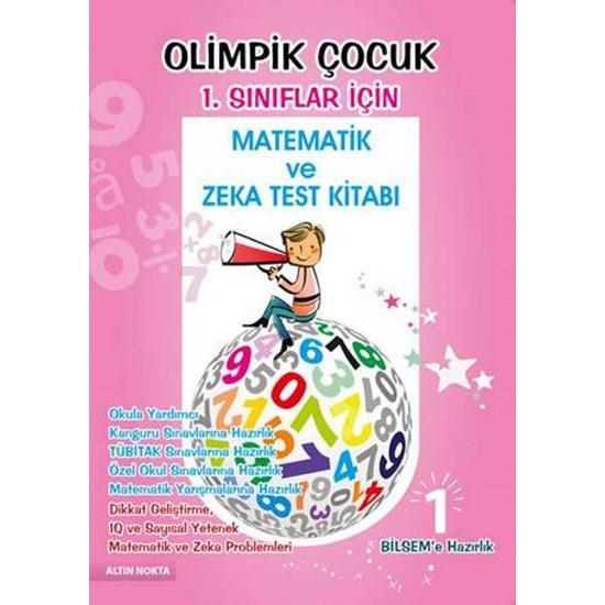 Altın Nokta 1. Sınıf Olimpik Çocuk Bilsem Kanguru Olimpiyat Zeka Kitabı