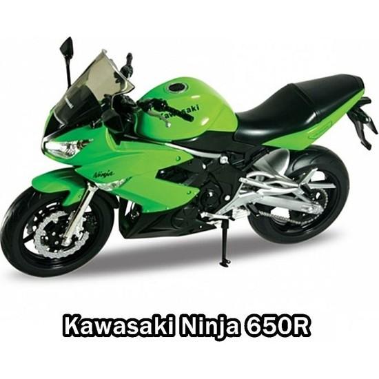 Karsan 1:10 Kawasaki Ninja 650R Model Motorsiklet