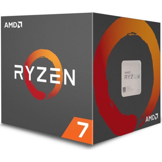 AMD Ryzen 7 1700 3.0GHz/3.7GHz 16MB Cache Soket AM4 İşlemci