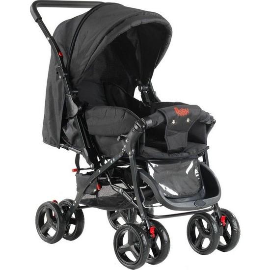 Babyhope 603 Çift Yönlü Bebek Arabasi - Siyah