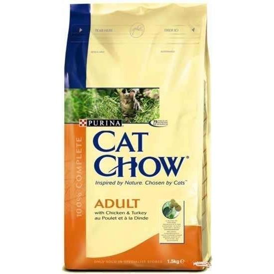 Purina Cat Chow Tavuk&Pirinç Yetişkin Kedi Maması 15 Kg
