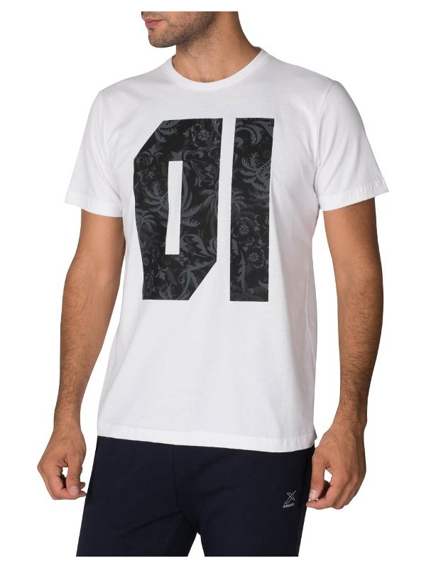Kinetix Track2 T-Shirt Beyaz Erkek T-Shirt
