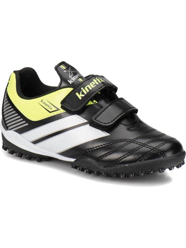Kinetix Trim Turf Siyah Neon Yeşil Beyaz Erkek Çocuk Halı Saha Ayakkabısı