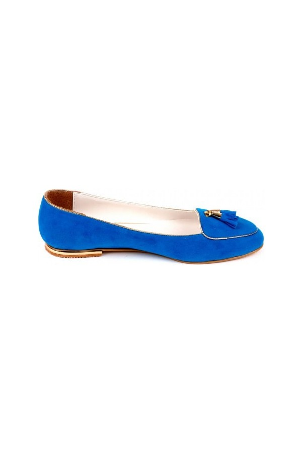 Blue Tassel Women Babette was Bonalo