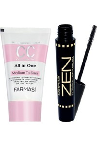 Pharmacy Cc + Cream 50ml middle to dark Zen Mascara 8 ml