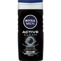 Nivea Men Active Clean Duş Jeli 250 ml