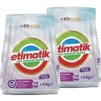 Etimatik Toz Deterjan Tül 1,5 kg x 2