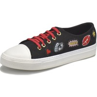 Butigo 18S-Sm-Yh1710 Siyah Kadın Ayakkabı