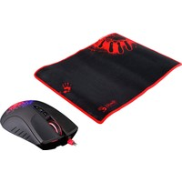 Bloody A9081 Oyuncu Mouse + Mouse Pad (Bloody A90 M.Core Oyuncu Mouse + Bloody 081 Mouse Pad)