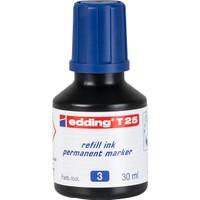 Edding T25 Mavi Permanent Mürekkeb 25Ml