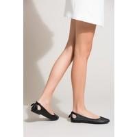 Fox Shoes Siyah Kadın Babet B290080109